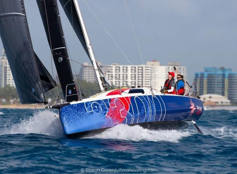 Ken Read and Suzy Leech at the 2020 Key West Race. - photo © Sharon Green / Ultimate Sailing