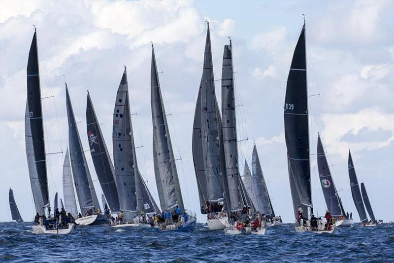 The 2019 Noakes Sydney Gold Coast saw one of the largest fleets ever to take on the race. © Andrea Francolini