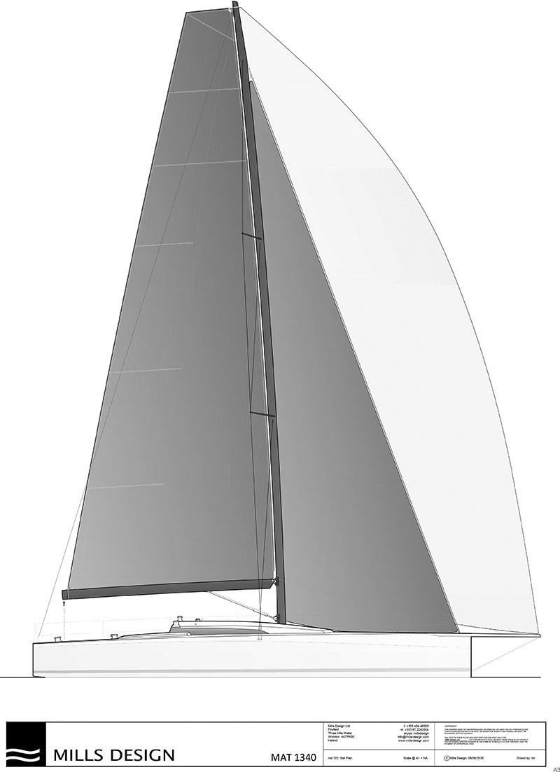 M.A.T in Turkey are set to build the new Mark Mills penned M.A.T 1340 racer/cruiser - photo © Mills Design