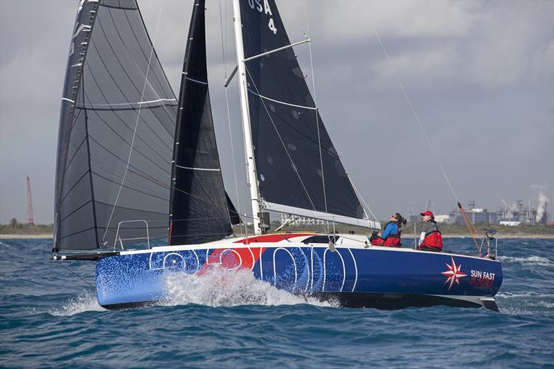 Jeanneau America has become the Presenting Partner of the 2020 Ida Lewis Distance Race, which starts Saturday, August 15. Three of its new Jeanneau Sun Fast 3300s are expected to join the racing in the new Mixed Double-Handed class.  - photo © Billy Black
