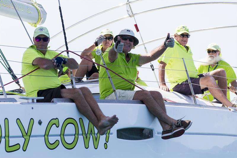 Holy Cow! We can finally race again - Airlie Beach Race Week 2019 - photo © Andrea Francolini