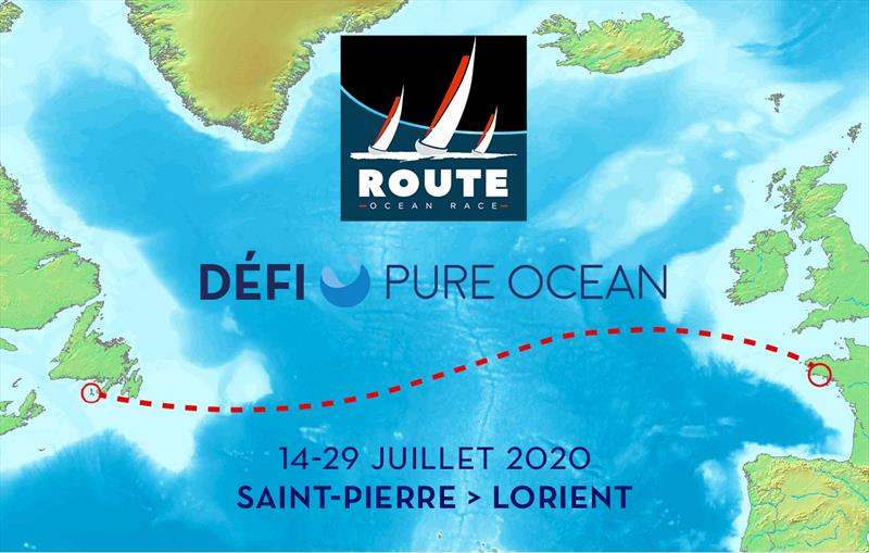 The route map for the 2020 Pure Ocean Challenge © Image courtesty of the 2020 Pure Ocean Challenge