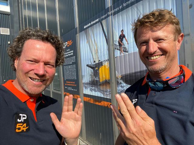 JP Dick and David Sussmann will sail together aboard `The Kid` - photo © Image courtesty of the 2020 Pure Ocean Challenge
