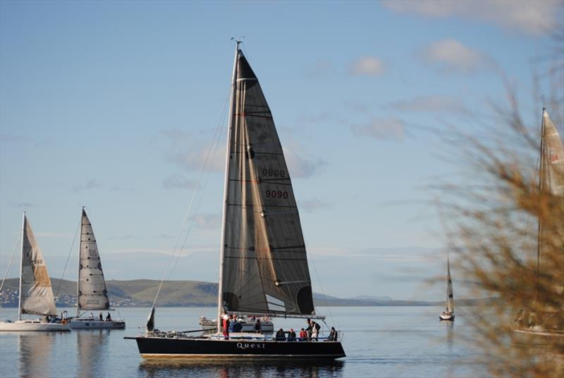 Quest was to have had its first race for her new owners - photo © Peter Campbell