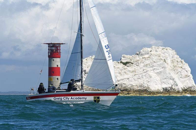 RORC Race the Wight - photo © Rick Tomlinson