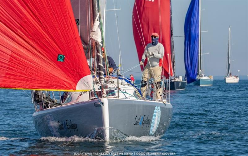 Cepheus sailing at Edgartown Race Weekend © Stephen Cloutier