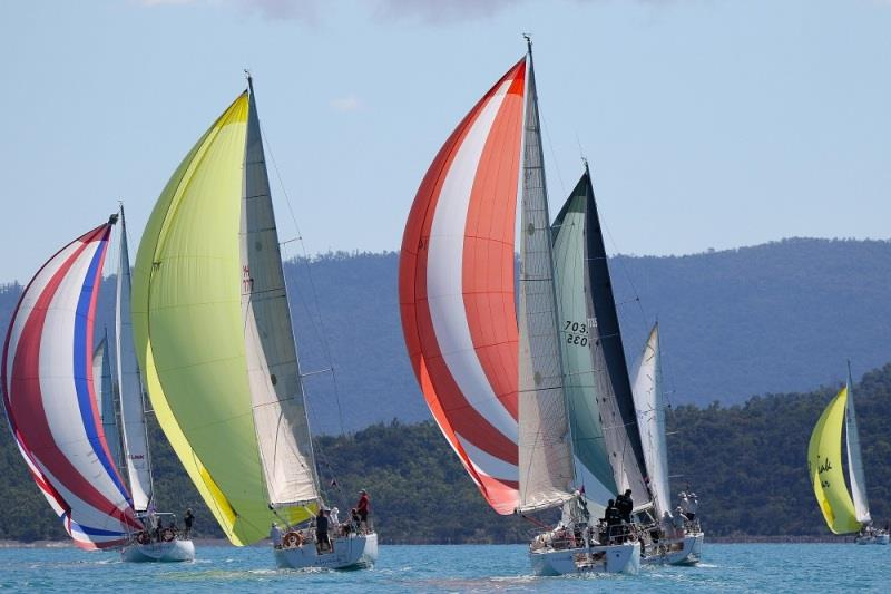 Cruising Divsion 2 makes a splash of colour - 2020 Airlie Beach Race Week day 5 - photo © Shirley Wodson / ABRW