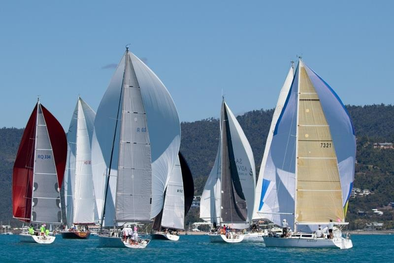 Cruising Division on the windward-leeward course in Race 6 - 2020 Airlie Beach Race Week, final day - photo © Shirley Wodson / ABRW