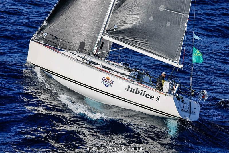 Rolex Middle Sea Race - Jubilee; Sail n°: FRA53222; Model: J / 109; Entrant: Gerald Boess / Jonathan Bordas; Country: FRA; Skipper: Gerald Boess / Jonathan Bordas; Loa: 10; IRC: Class  - photo © Rolex / Carlo Borlenghi