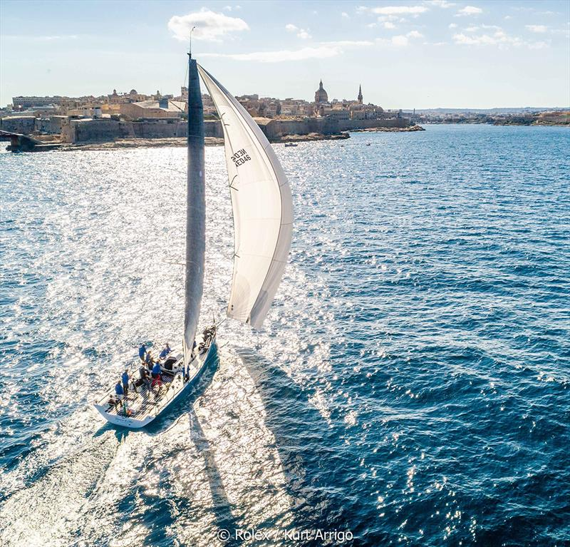 Rolex Middle Sea Race - Tonnerre de Glen, Sail No: NED46, Model: Ker46 - photo © Rolex / Carlo Borlenghi