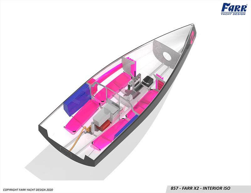 All the basics, sound structure, and water ballast - Farr X2 - photo © Farr Yacht Design