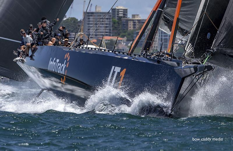 InfoTrack has been showing great speed in the lead up events to the Hobart - SOLAS Big Boat Challenge photo copyright Crosbie Lorimer taken at Cruising Yacht Club of Australia and featuring the IRC class