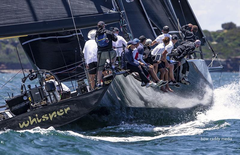 Triple head on Whisper - SOLAS Big Boat Challenge - photo © Crosbie Lorimer