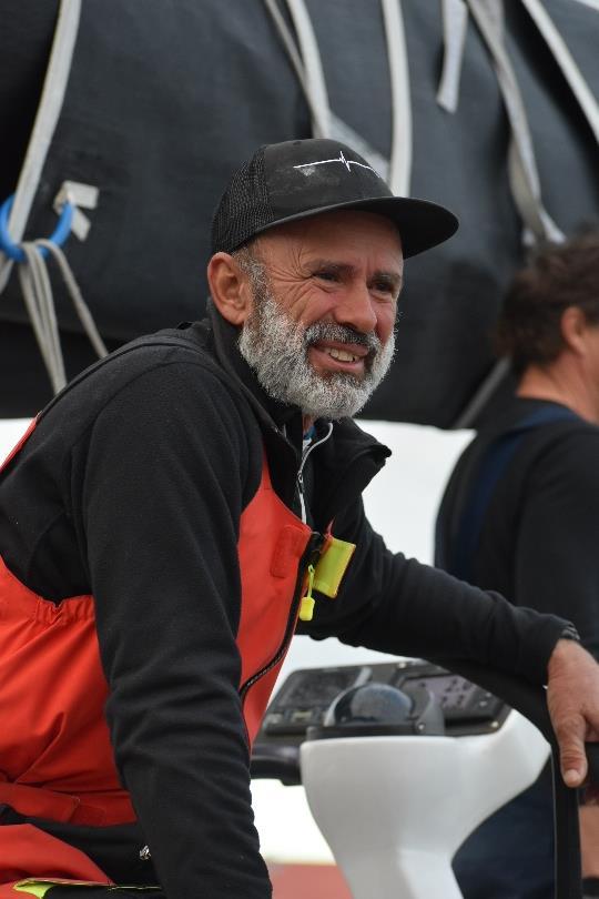 Alive skipper, Duncan Hine - TasPorts Launceston to Hobart Yacht Race - photo © Jane Austin