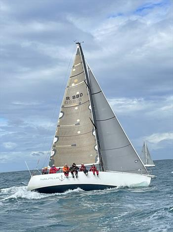 Alien on the way to winning the West Offshore Products Coastal Sprint Race 3 © Geoff Onions