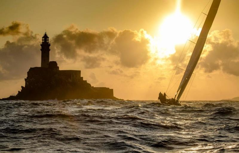 The legendary Fastnet Rock is the lure of Rolex Fastnet Race for all competitors. - photo © Kurt Arrigo / Rolex