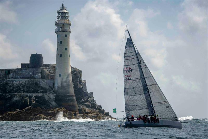 Winning the Fastnet Challenge Cup for overall victory in the 2017 Rolex Fastnet Race and class runner-up in 2019 - Didier Gaudoux's JND 39 Lann Ael 2 - photo © Kurt Arrigo / Rolex