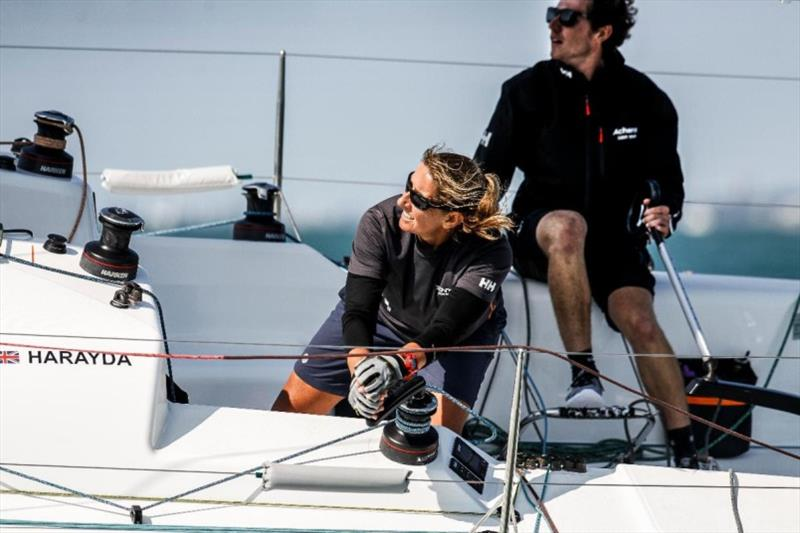 Winning last year's IRC Two Handed Nationals, James Harayda's Sun Fast 3300 Gentoo, will be competing with round the world sailor Dee Caffari in the 2021 Rolex Fastnet Race - photo © Paul Wyeth / pwpictures.com