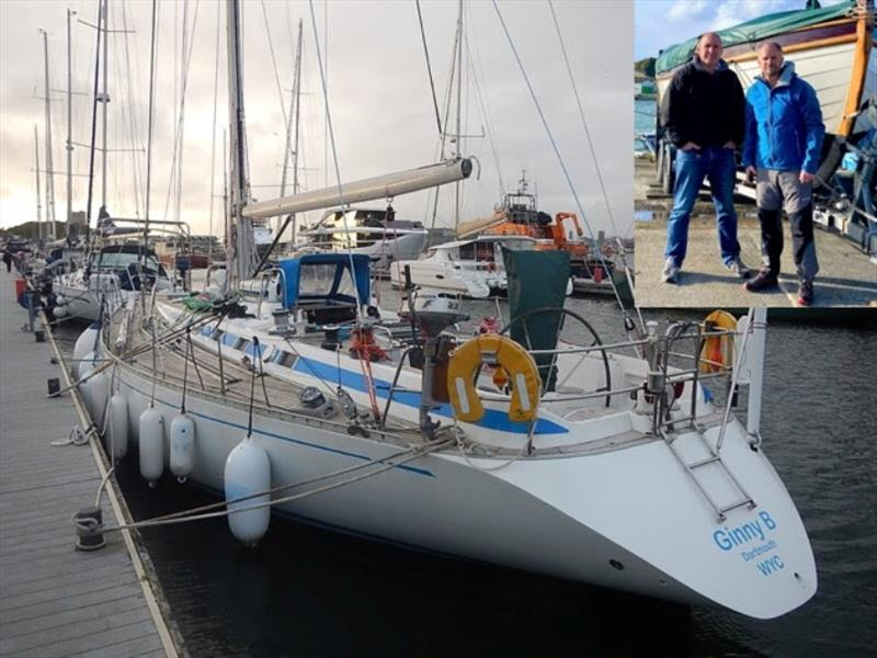 Alex Bennett will race his Swan 46 Mk1 Ginny B doublehanded with fellow solo offshore sailor Conrad Humphreys - photo © Ginny B