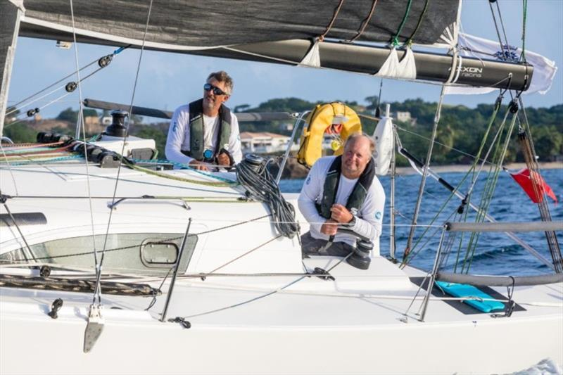 Richard Palmer and Jeremy Waitt on JPK 10.10 Jangada - RORC 2020 Yacht of the Year following a big season that started with outright victory in the Transatlantic Race and ended with their winning the IRC Two-Handed Autumn Series - photo © Arthur Daniel
