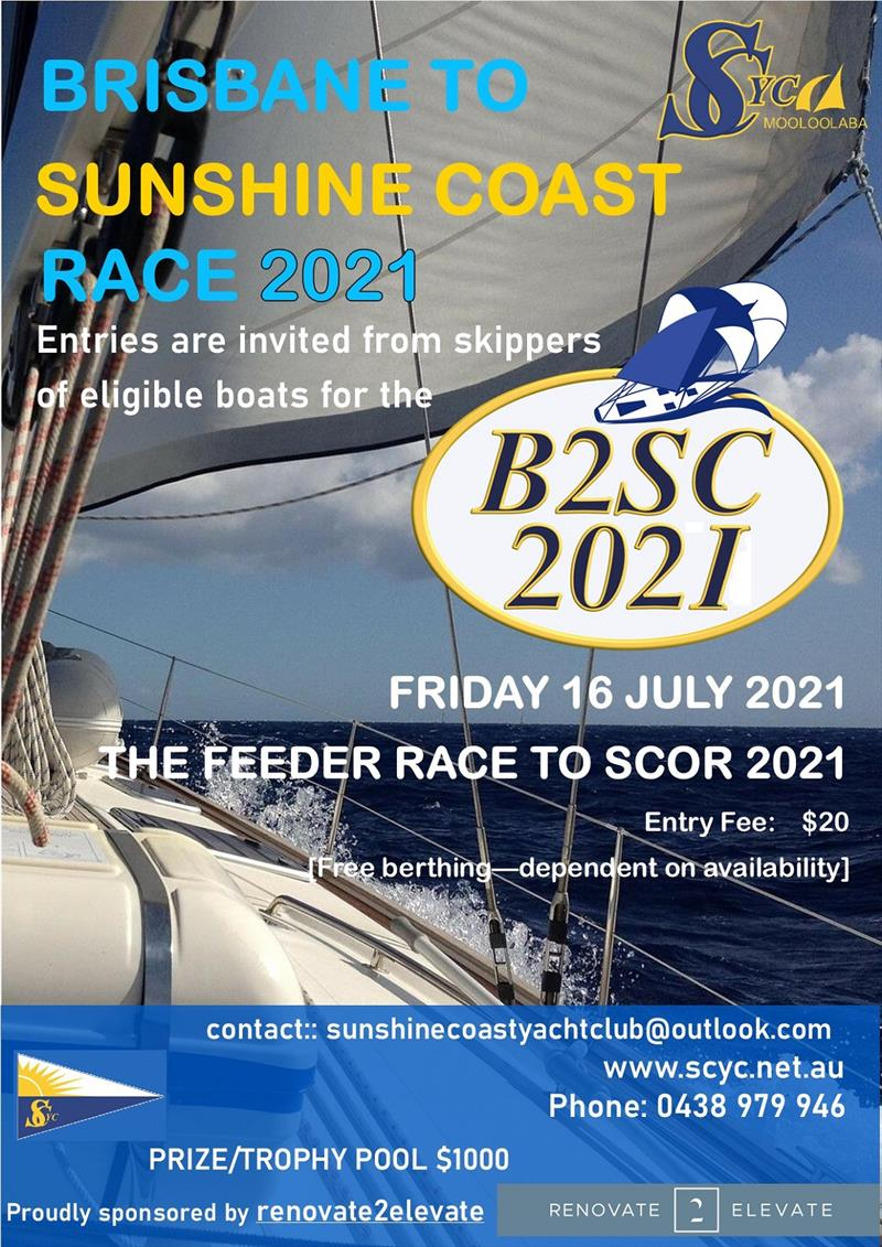 B2SC 2021 (Brisbane to Sunshine Coast)  - photo © Sunshine Coast Yacht Club