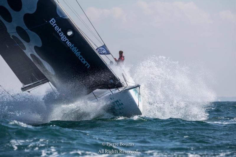 Nicolas Groleau's Mach 45 Bretagne Telecom finished second in IRC Zero and overall in the 2019 Rolex Fastnet Race - photo © Pierre Bouras