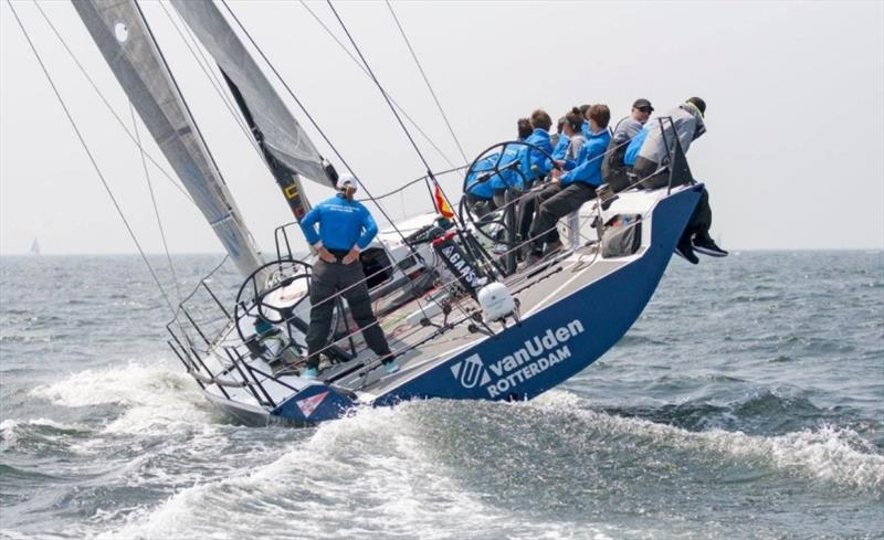 Promoting youth participation - the Youth Rotterdam Offshore Sailing Team on the Ker 46 Van Uden - photo © Van Uden