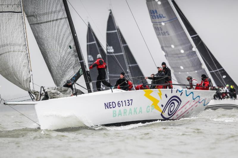 Sixth Rolex Fastnet Race together as a team for the De Graaf family who return this year in their Ker 43, Baraka GP (NED) - photo © Paul Wyeth / pwpictures.com
