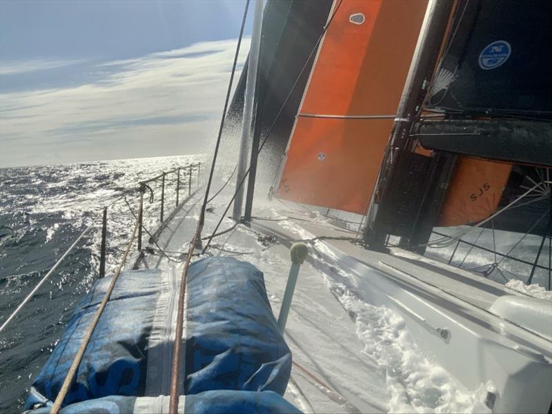 Onboard Pyewacket - photo © North Sails
