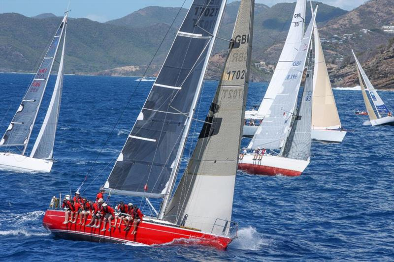 Ross Applebey's Oyster Lightwave 48 Scarlet Oyster has racked up numerous race wins and class victories notably in the Rolex Fastnet Race and RORC Caribbean 600 - photo © ELWJ Photos
