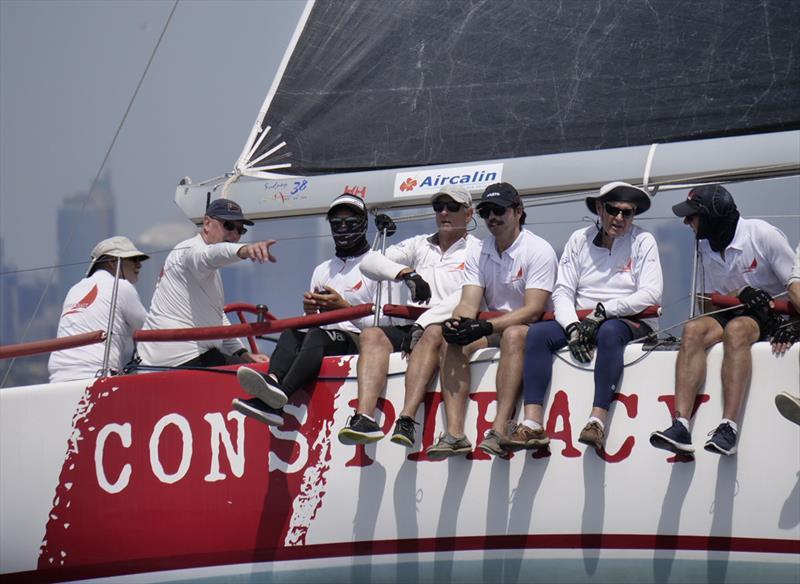 Sydney Short Ocean Racing Championship 2020 winning Sydney 38 Conspiracy - photo © Tilly Lock Media
