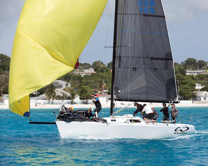Another CSA Racing win for J/105 – Whistler - Barbados Sailing Week 2018 - photo © Peter Marshall / BSW