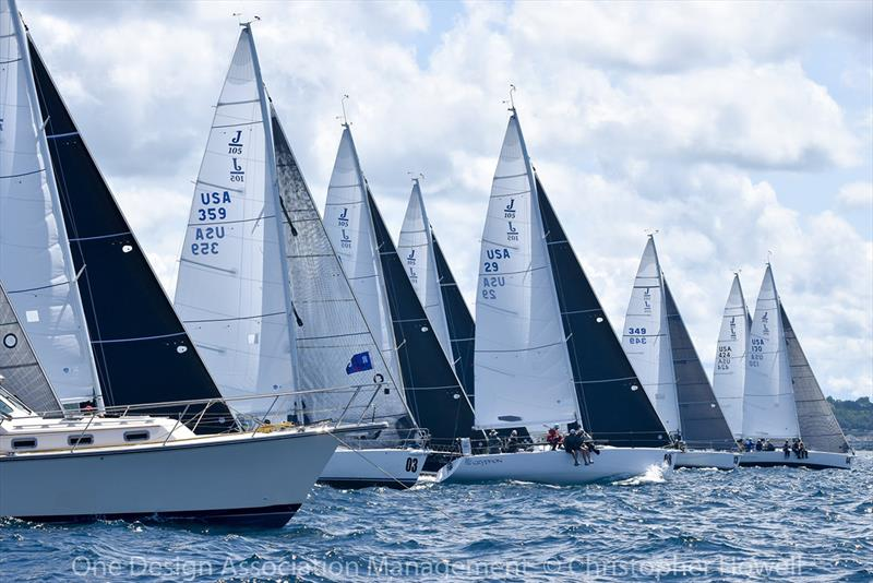2018 J/105 North American Championship - Day 1 - photo © Christopher Howell