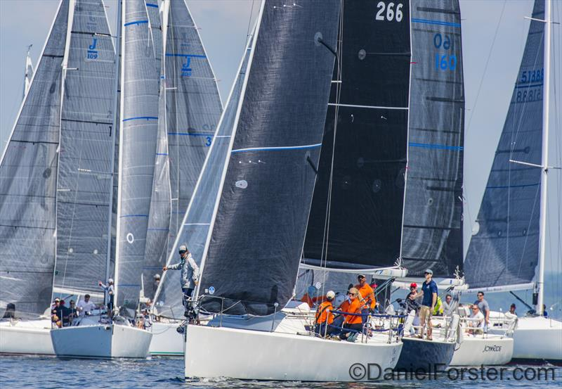 Cedar Point Yacht Club One Design Regatta 2018 - photo © Daniel Forster