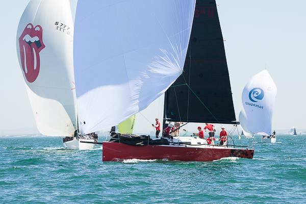 Scarlet Runner at the Australian Yachting Championships on Melbourne's Port Phillip. - photo © Alex McKinnon Photography