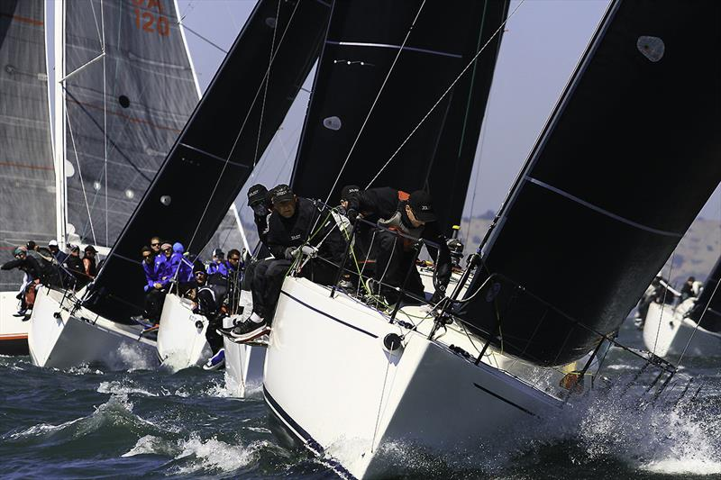 Joust sailing at the 2017 J/111 World Championship in San Francisco photo copyright Chris Ray taken at San Francisco Yacht Club and featuring the J111 class