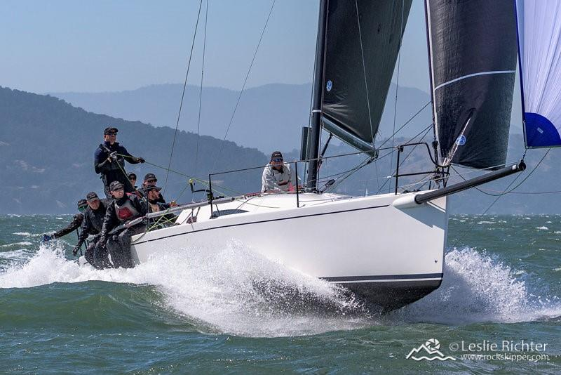 Joust sailing at the 2017 J/111 World Championship in San Francisco - photo © Leslie Richter