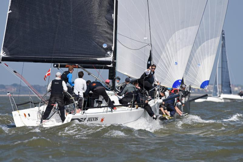 Almost unbeatable: Jelvis dominates the J/111 class - 2018 Vice Admiral's Cup - photo © Rick Tomlinson