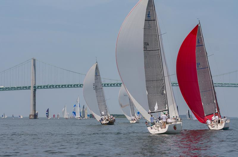The inaugural Safe Harbor Race Weekend took place on the waters of Rhode Island's iconic Narragansett Bay - photo © Image courtesy of Stephen Cloutier
