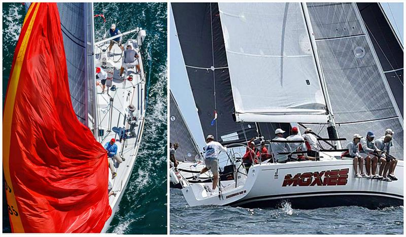 The J/122 Moxiee will be new to Edgartown Race Weekend this year - Edgartown Yacht Club Race Weekend - photo © Left photo courtesy Daniel Heun, right photo Stephen Cloutier