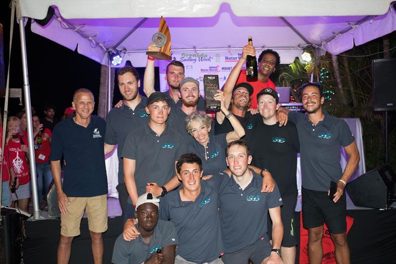 Pamala Baldwin's J/122 Liquid (ANT) - 2020 Grenada Sailing Week - photo © Arthur Daniel