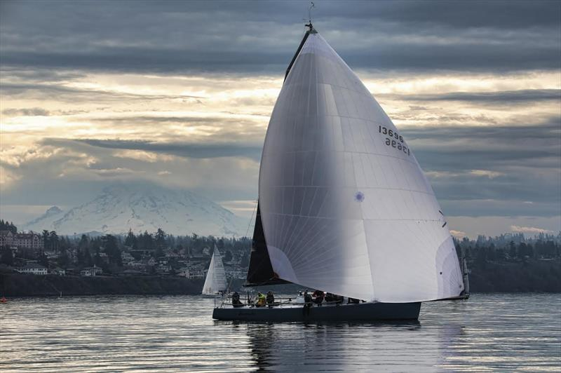 Hamachi sailing in light airs on Puget Sound - photo © Image courtesy of Hamachi/Jan Anderson
