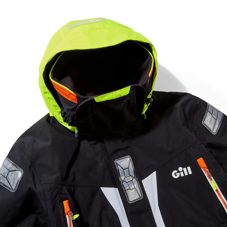 Gill's Offcut-Edition OS2 jacket delivers performance sans `landfill guilt` photo copyright Image courtesy of Gill taken at New Bedford Yacht Club and featuring the J133 class