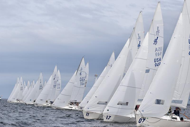 2019 J/22 Midwinter Championship at Fort Walton Yacht Club - Day 1