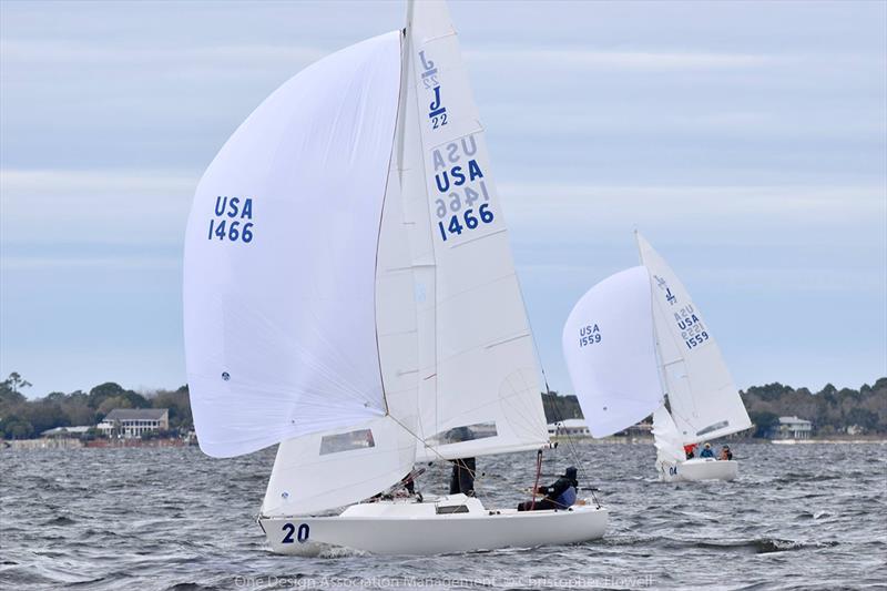 2019 J/22 Midwinter Championship at Fort Walton Yacht Club - Day 2