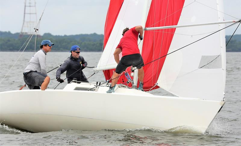 Jeff Todd and the J/22 Hot Toddy - 2020 Helly Hansen NOOD Regatta Annapolis - photo © Will Keyworth