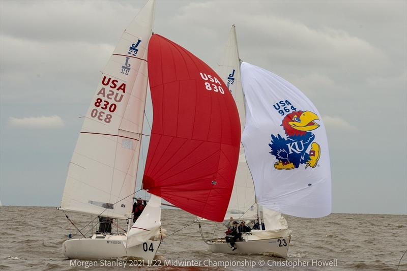 2021 Morgan Stanley J/22 Midwinter Championship - Day 2 - photo © Christopher Howell