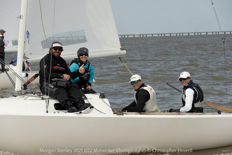 2021 Morgan Stanley J/22 Midwinter Championship - Final Day - photo © Christopher Howell