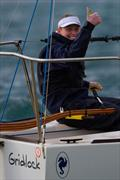 Gridlock's Laura Harding gives the winning thumbs up - Final Day - Australian Women's Keelboat Regatta © Bruno Cocozza