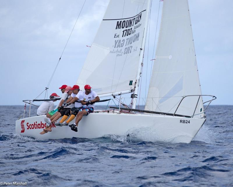 Cyril Lecrenay's team on Bunga Bunga sailed a good series to finish second overall - Barbados Sailing Week 2018 - photo © Peter Marshall / BSW